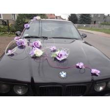 """Dekoracja samochodu """"Samochód Weselny 5"""""""