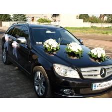 """Dekoracja samochodu """"Samochód Weselny 6"""""""
