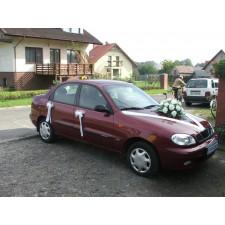 """Dekoracja samochodu """"Samochód Weselny 12"""""""
